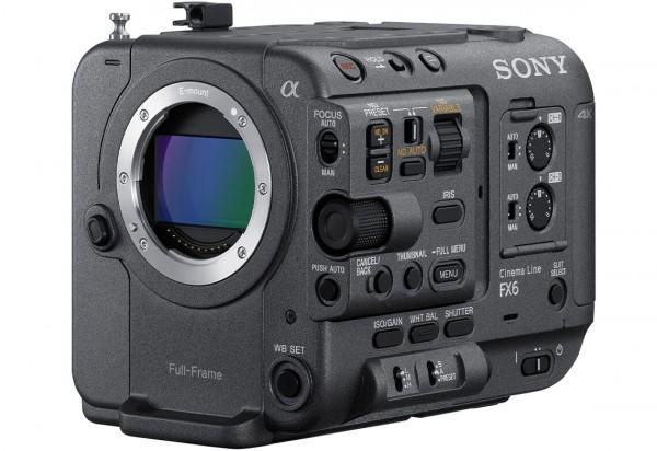Sony FX6 Full-Frame Cinema Camera Body - Coming Soon