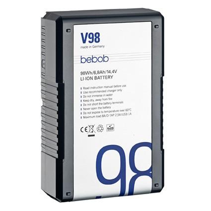 bebob V98 V-Mount Li-Ion Battery 14.4V / 98Wh