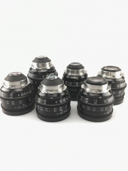 SOLD - Zeiss Highspeed MKIII Lens Set, USED
