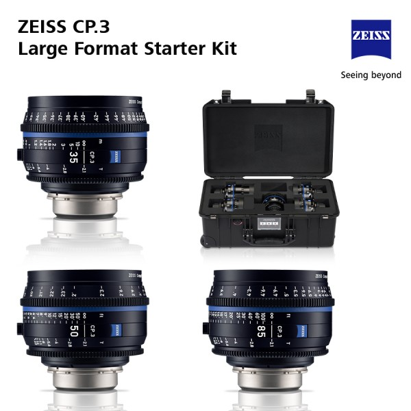 Zeiss CP.3 and CP.3XD Set bundles - Large Format Starter Kits