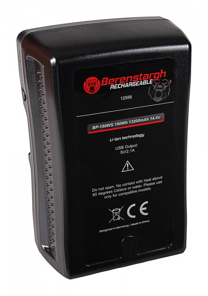 Berenstargh Battery f. Sony BP-190WS V-Mount