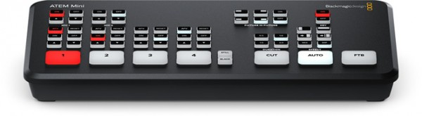 Blackmagic Design ATEM Mini Live production switcher