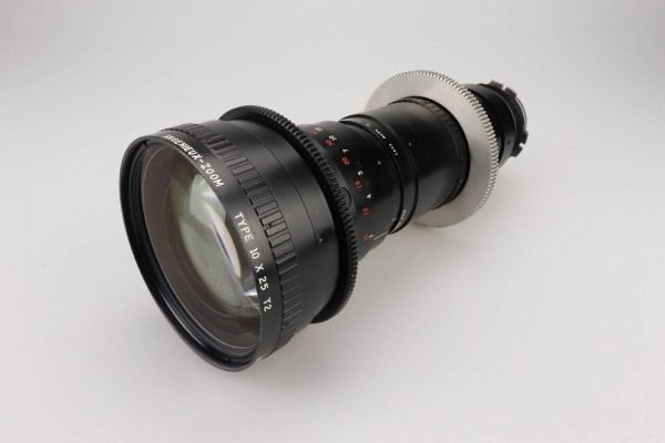 SOLD - Angenieux 25-250mm, T3.7, Type 10x25 T2, PL-Mount, used