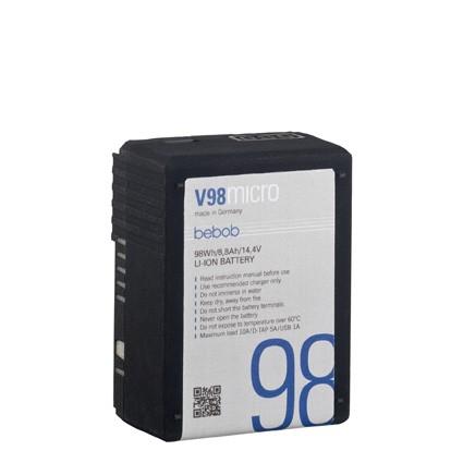 bebob V98MICRO micro bebob VMount Li-Ion Battery 14.4V/98Wh