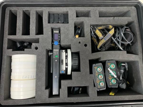 C-Motion Lens control kit, x2 camins, x2 Heden M26VE Motors - USED