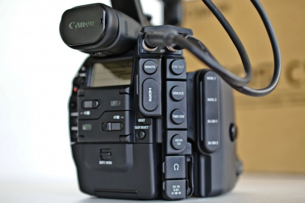 SOLD - Canon EOS C500 EF 4K Camera, used