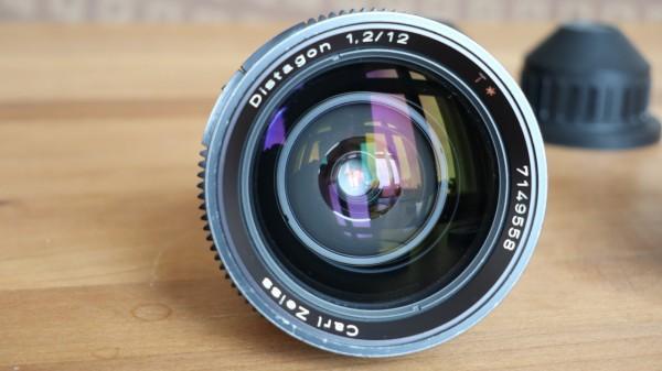 SOLD - Zeiss Arriflex 16mm Distagon 1.2 - 12mm - USED