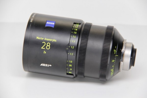 ARRI / ZEISS Master Anamorphic Lens SET of 9 Lenses (7 with flare sets) - USED