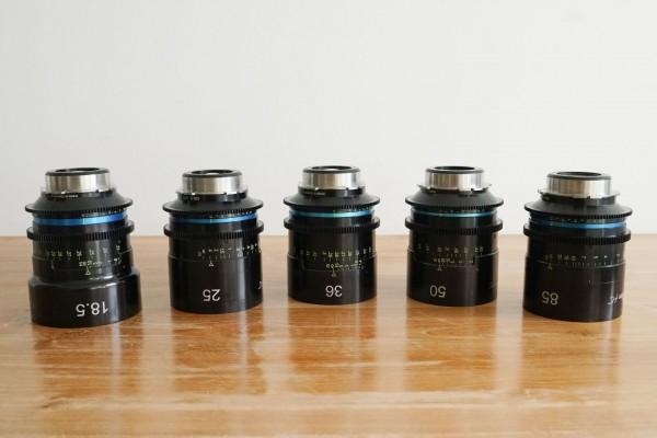SOLD - Hanse Inno Tech Celere HS Lens Set T1.5, PL-Mount, used