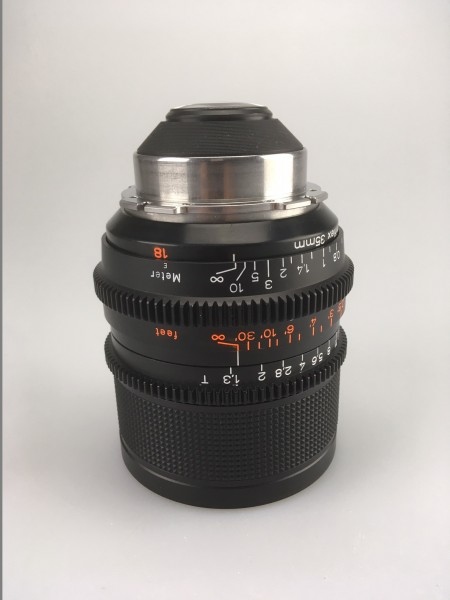 Zeiss Highspeed 18mm T1.3 MKII Lens, USED
