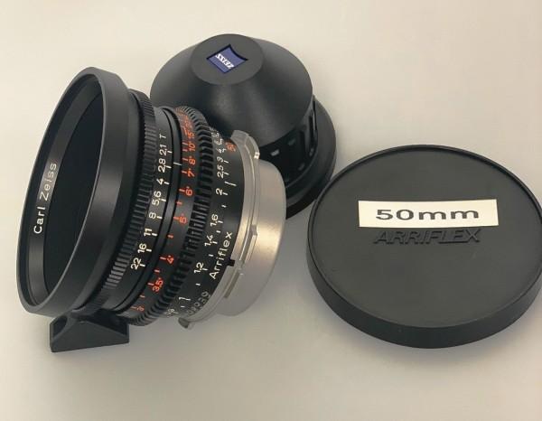 SOLD - Zeiss Standard Prime Planar 2/50mm - USED
