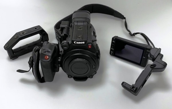 CANON EOS C200 - USED as NEW - under warranty until 02/2020