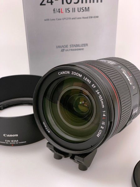 Canon EF 24-105mm f/4L II USM Lens - used as new