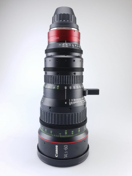 Canon CN-E 14.5-60mm T2.6 L SP, used