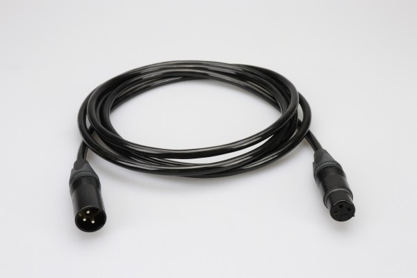 Power Extension Cable 24V XLR 3pin to XLR 3pin