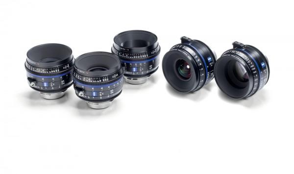 Zeiss Compact Prime CP.3 - 5 Lens Set - PL