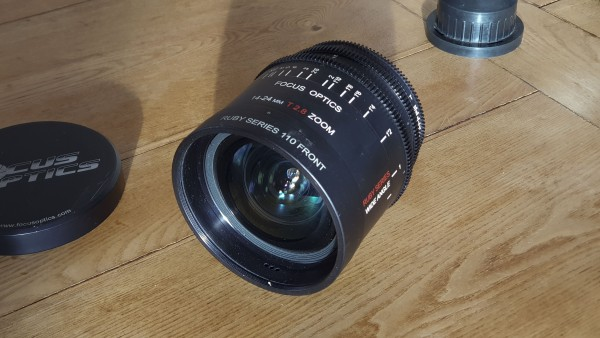 Focus Optics Ruby 14-24mm T2.8 PL Mount Lens - used