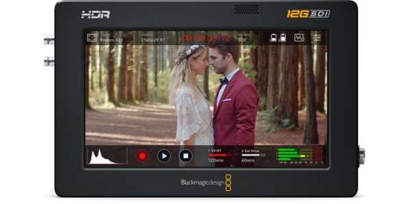 "Blackmagic Design Video Assist 5"" 12G HDR professional monitoring and recording"