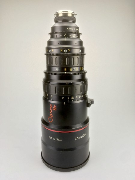 SOLD - Angenieux 24-290mm Optimo Zoom T2.8 - PL Mount - USED