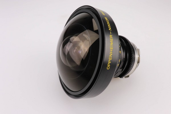 SOLD - Oppenheimer Nikkor 8mm T2.8, PL-Mount, used