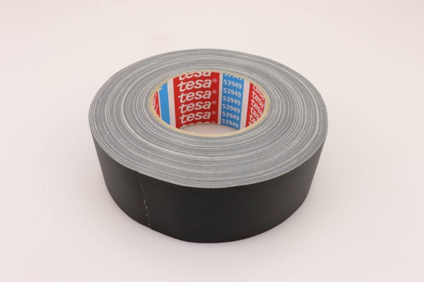 Tesa 53949 matt gaffer tape black/white