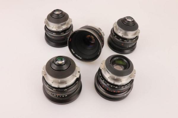 SOLD - Zeiss Standard T2.1 lens set, PL-Mount, used