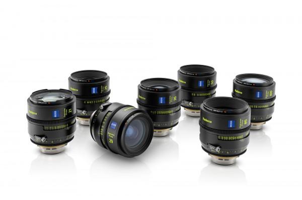 ZEISS Supreme Prime Radiance Lenses Set of 7: 21 mm, 25 mm, 29 mm, 35 mm, 50 mm, 85 mm and 100 mm –