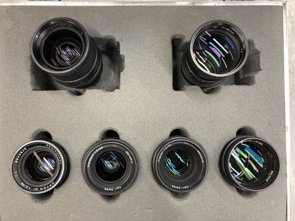 Zeiss High Speed T1.3 set - USED