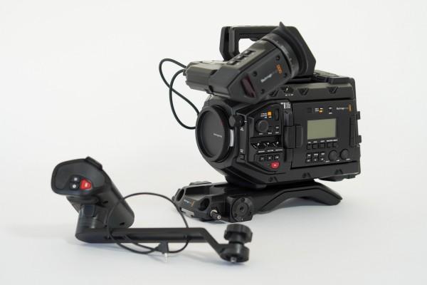 Blackmagic URSA Mini Pro 4,6K with URSA Viewfinder - EF-Mount and B4-Mount - USED