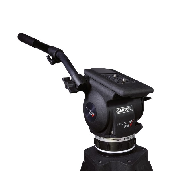 Cartoni Focus 22 Fluid Head Set with 100mm bowl