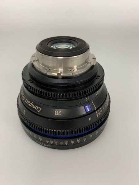 SOLD-ZEISS Compact Prime CP - 28mm PL-Mount - Metric / Demo