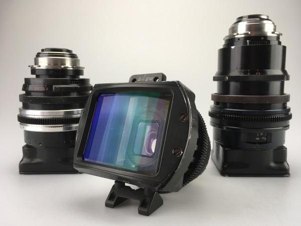Lomo Anamorphic Square Front Lens Set, USED