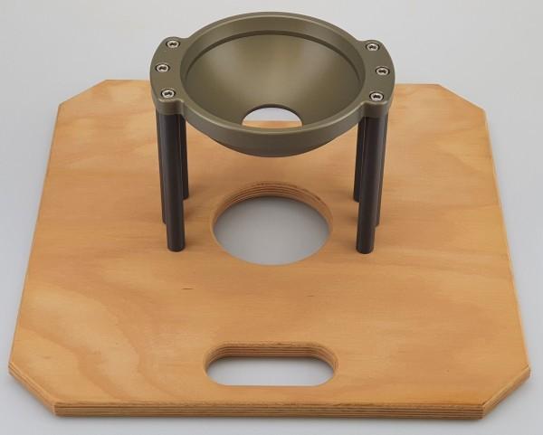 Hi-Hat 150mm Bowl, Board and Sticks