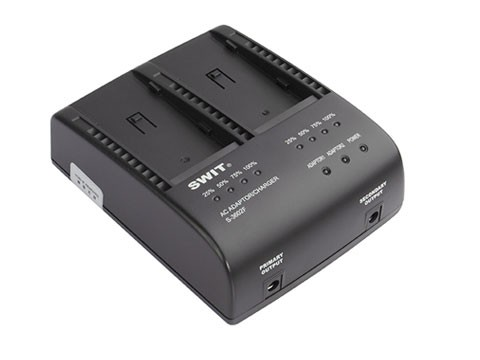 SWIT 2-Channel Charger S-3602F