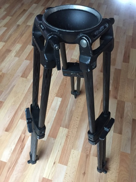 Schulz Tripod Legs, HD-C 150 medium with 150 mm Bowl - USED