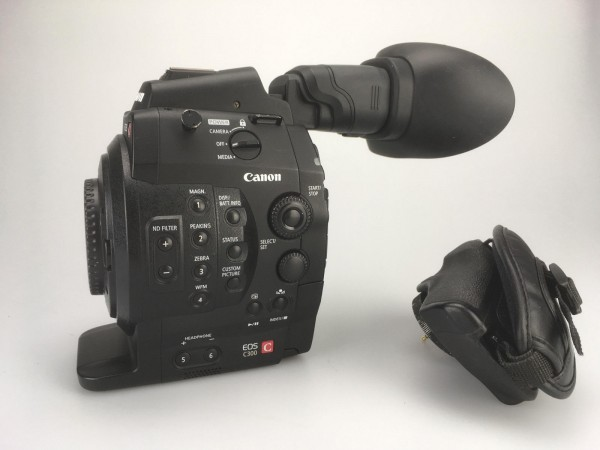 SOLD - Camera Canon EOS C300 EF, used
