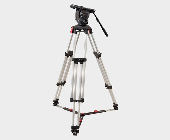 OConnor 2575D Head & Cine 150mm Bowl Tripod with Floor Spreader