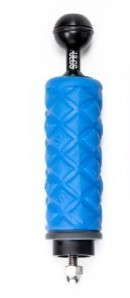 ULCS TR-DHB-Handle and ball with blue grip and 1/4″ threaded mounting rod with nut