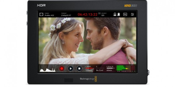 "Blackmagic Design Video Assist 7"" 12G HDR professional monitoring and recording"