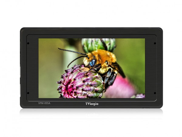 "TVlogic VFM-055A 5,5"" Full HD, OLED, Viewfinder 1920x1080, 3G-SDI ,HDMI"