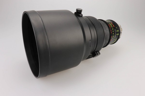 SOLD - Optex 200mm f1.8, PL-Mount, used