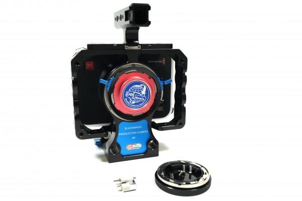 Blackmagic Design Production Camera 4K Set Super 35mm Cinema EF Mount + Denz PL-Mount - USED